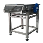 Vibrating dosing table
