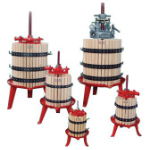 Traditional wine presses